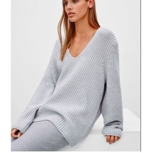 Aritzia Babaton Tyrion Wool Sweater Black